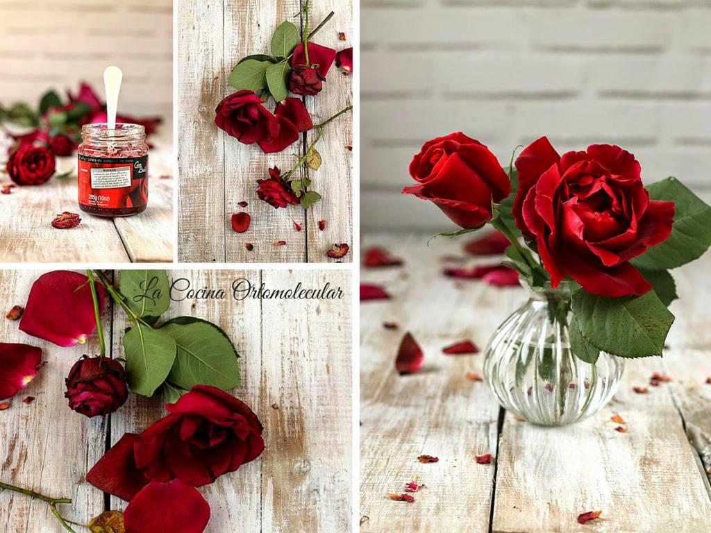 Mermelada de rosas -La Cocina Ortomolecular